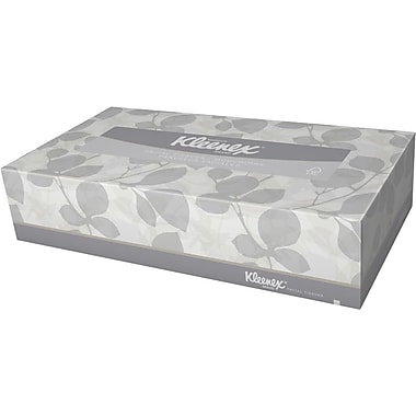 Kleenex® Facial Tissue, 125 Sheets/Box, 12 Boxes/Pack