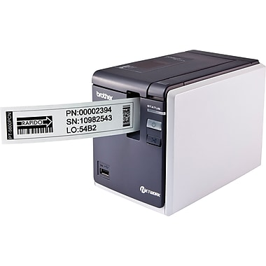 Brother PT9800PCN Desktop Network Thermal Label and Barcode Printer