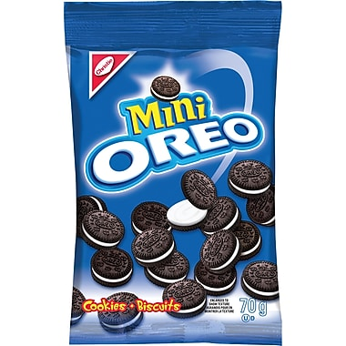 Christie – Mini Oreo, emballages collation, 70 g, paq./12