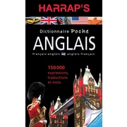 French Reference Book - Harrap's Dictionnaire Poche Anglais