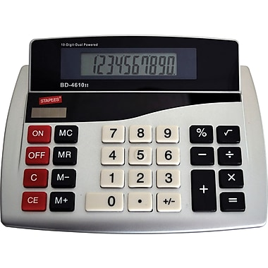Staples® 10-Digit Desktop Calculator