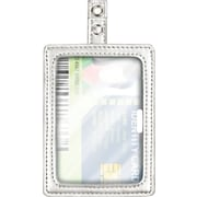 Cosco® MyID™ Silver ID Badge Holder for Key Cards and ID Cards, 4 x 2.5