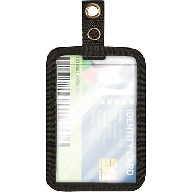 Cosco® MyID™ Black ID Badge Holder for Key Cards and ID Cards, 3.5in. x 2.5in.