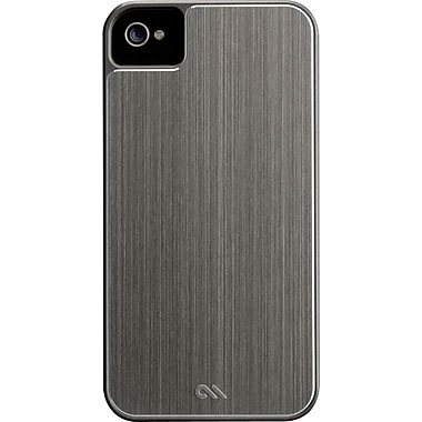 Case-Mate Brushed Aluminum Case for iPhone 4, Silver