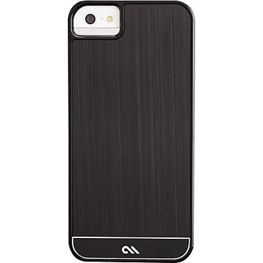 Case-Mate Brushed Aluminum Case for iPhone 5, Black