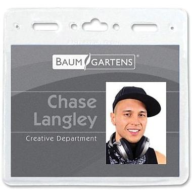 Baumgartens® – Porte-insigne, 3 po x 4 po, paq./50