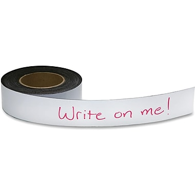 Baumgartens® Repositionable Magnetic Labelling Tape, 50' x 2
