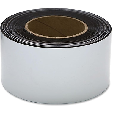 Baumgartens® Repositionable Magnetic Labelling Tape, 50'X3