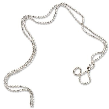 Baumgartens® Beaded ID Chain, 25/Pack