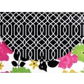 Fashionista 13 Pocket Letter Expandable, Floral Design, Each