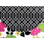 Fashionista 13 Pocket Letter Expandable, Floral Design, Each