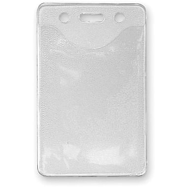 C-Line® Heavy-Duty Badge Holder, Vertical, 100/Pack