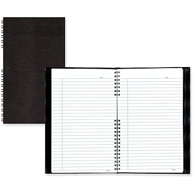BluelineMD – Cahier de notes de direction, 8 x 5 po, noir, 150 pages