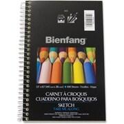 "Bienfang® Sketch Book, 5-1/2"" x 8-1/2"", 100 Sheets"