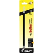 Pilot Better Ball Point Refill, Fine Point, Black, 2/Pack (77215)