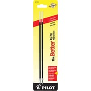 Pilot® Fine Ballpoint Refill For Most Pilot Ballpoint Pens, 2/Pack, Red