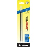 Pilot Better Ball Point Refill, Fine Point, Blue, 2/Pack (77216)
