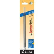 Pilot Better Ball Point Refill, Medium Point, Blue, 2/Pack (77222)