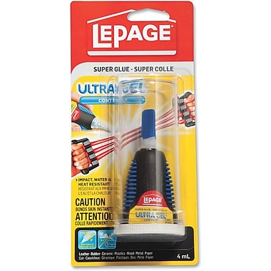 LePage® Ultra Gel Super Glue, 4 mL