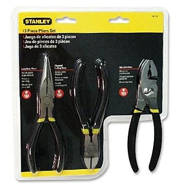 Stanley-Bostitch® 3-Piece Basic Plier Set