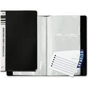 Winnable Business Card Holder with A-Z Tabs, Holds 120 Cards