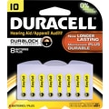 Duracell Lithium Medical Battery, 3V, #10, 8/pk