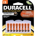 Duracell Button Cell Lithium Batery, #13, 8/pk