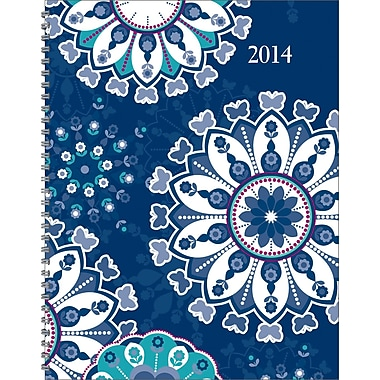2014 Staples® Weekly/Monthly Hard Cover Planner, 6 7/8in. x 8 3/4in.