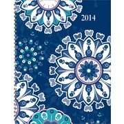 2014 Staples® Weekly/Monthly Hard Cover Planner, 6 7/8 x 8 3/4