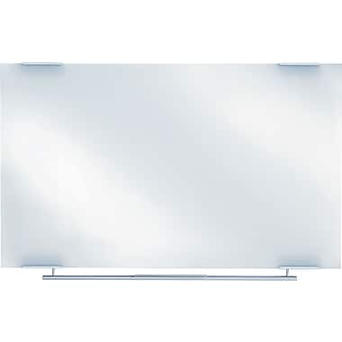 Clarity Dry Erase Board, 60in. x 36in. - Glass w/Aluminum Trim