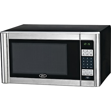 Oster 1.1 CU. FT. Microwave, Stainless Steel