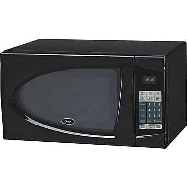 Oster .9 CU. FT. Microwave, Black