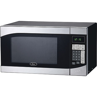 Oster .9 CU. FT. Microwave, Stainless Steel