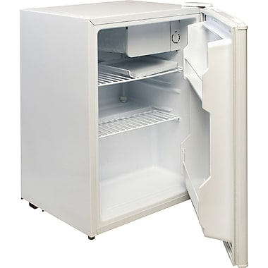 Magic Chef 2.4 CU. FT. Refrigerator with Freezer Compartment, White