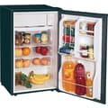 Magic Chef 3.6 CU. FT. Refrigerator with Clear Back, Black