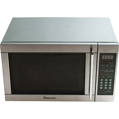 Magic Chef 1.3 CU. FT. Microwave Oven, Stainless