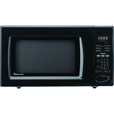 Magic Chef 1.6 CU. FT. Microwave Oven, Black