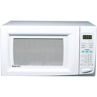 Magic Chef 1.6 CU. FT. Microwave Oven, White