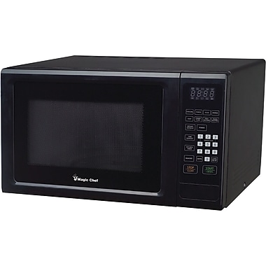 Magic Chef 1.1 CU. FT. Microwave Oven, Black
