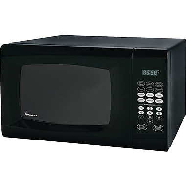 Magic Chef 0.9 CU. FT. Microwave Oven, Black