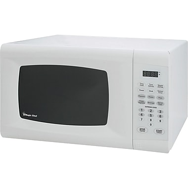 Magic Chef 0.9 CU. FT. Microwave Oven, White