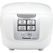 Panasonic® Fuzzy Logic® 5-Cup Micro-computer Controlled Rice Cooker, White