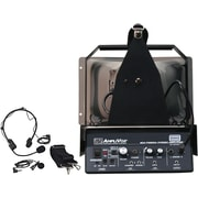 Amplivox Half-Mile Hailer Wireless Headset & Lapel Omnidirectional Microphones With Transmitter