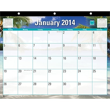 2014 Blue Sky Endless Summer Calendar 11in.x8 1/2in.