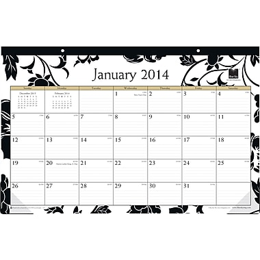 2014 Blue Sky Barcelona Desk Pad 17in.x11in.