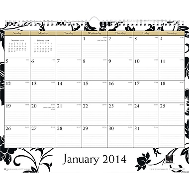 2014 Blue Sky Barcelona Wire-O Wall Calendar 15in.x12in.