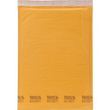 Sealed Air Bubble Cushioned Kraft Mailer #6