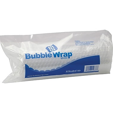 Sealed Air Bubble Wrap 3/16in.  Thick 12in.X10' Poly Roll