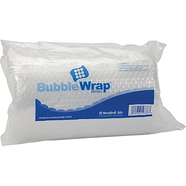 Sealed Air Bubble Roll 3/16in. Thick 12in.X30' Poly Roll
