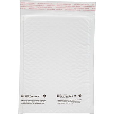 Bubble Wrap Cushoioned Poly Mailers, 7 1/4in.x 12in.